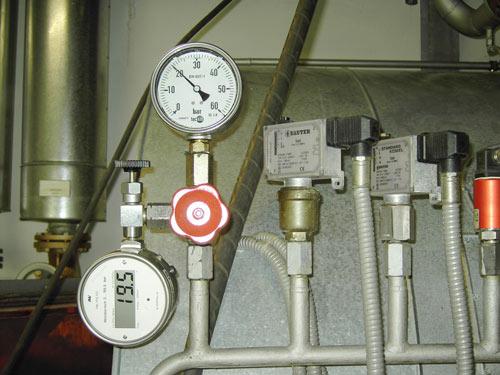TÜV-Abnahme Dampfkessel KAWE