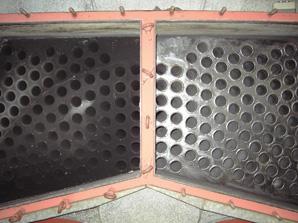 Kawe Kesselreinigung Rauchgaszüge vorher/nachher